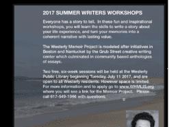 westerly memoir