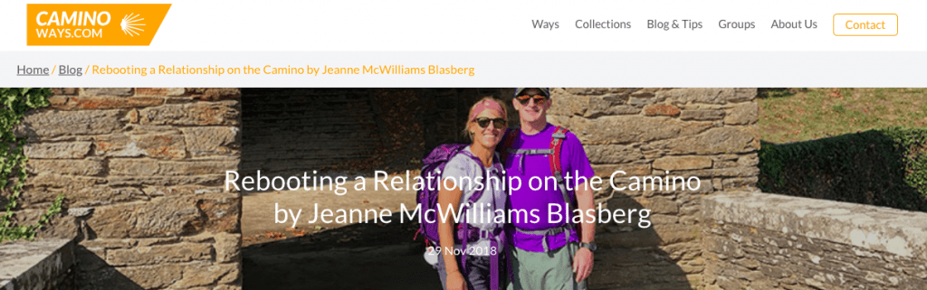 , Rebooting a Relationship on the Camino