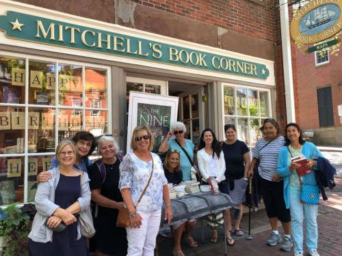 author-jeanne-mcwilliams-blasberg-book-signing-nantucket-mitchell's-book-shop