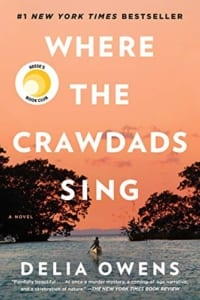 , Where the Crawdads Sing by Delia Owens