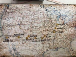 road trip, Returning East: Road Trip as Art Across America