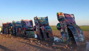 jeanne-blasberg-cadillac-ranch-amarillo-texas-returning-east-pandemic-road-trip